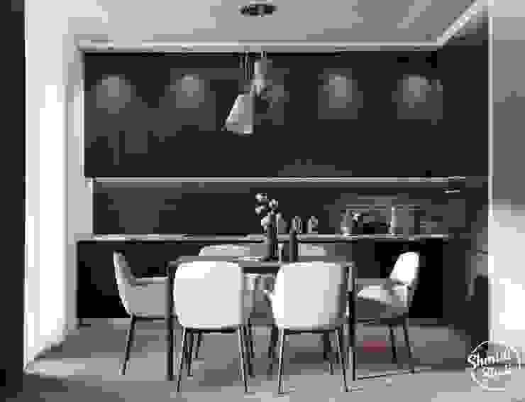 Project <q>Black</q>, Minsk Shmidt Studio Modern Kitchen