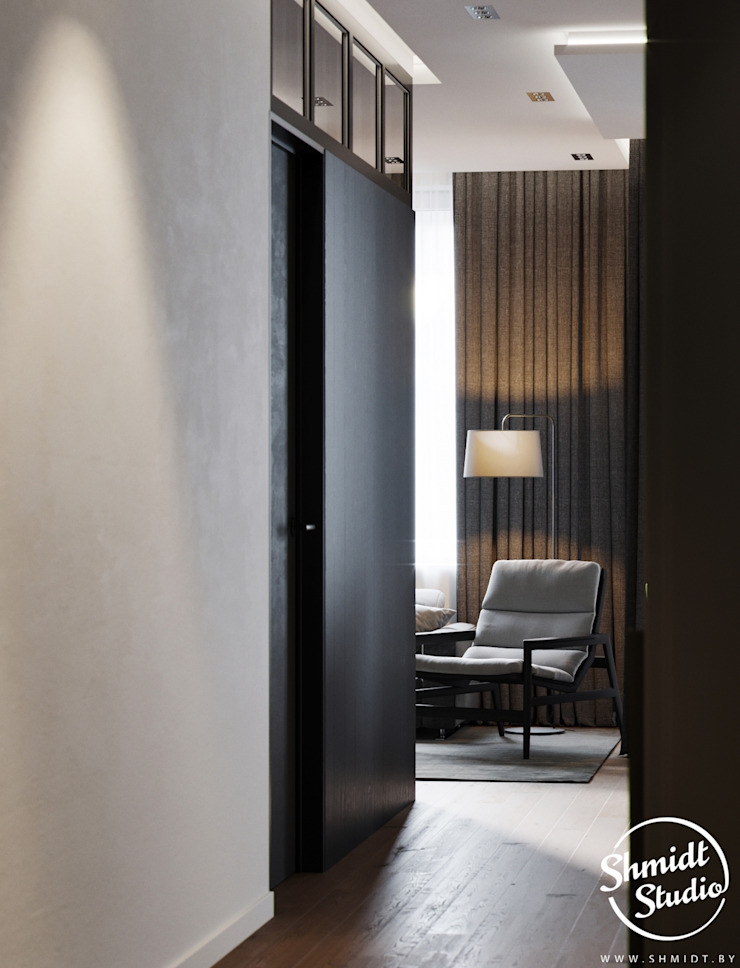 Modern living room by Shmidt Studio Modern