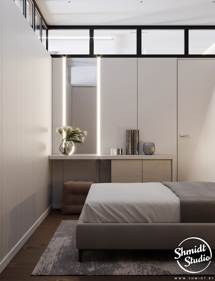 Modern style bedroom by Shmidt Studio Modern