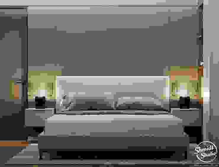 Project <q>Black</q>, Minsk Shmidt Studio Modern Bedroom