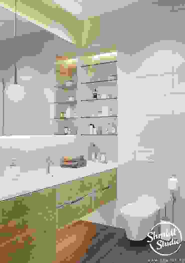 "Project ""Skilful"", Moscow Shmidt Studio Modern Bathroom"