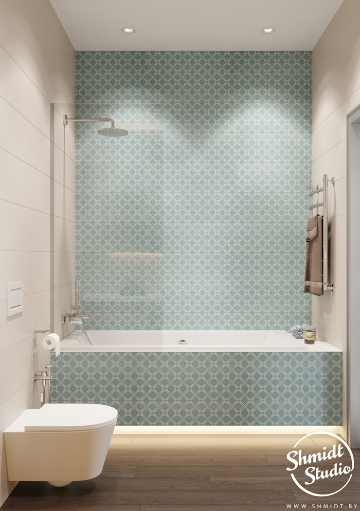 Project <q>Skilful</q>, Moscow Shmidt Studio Modern Bathroom