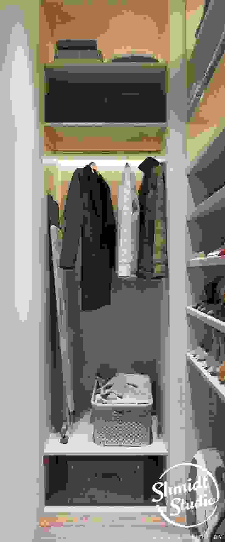 Project <q>Skilful</q>, Moscow Shmidt Studio Modern Dressing Room