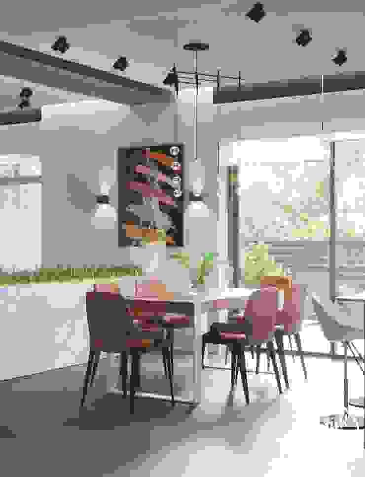 Project <q>Attractive</q>, Minsk Shmidt Studio Modern Kitchen