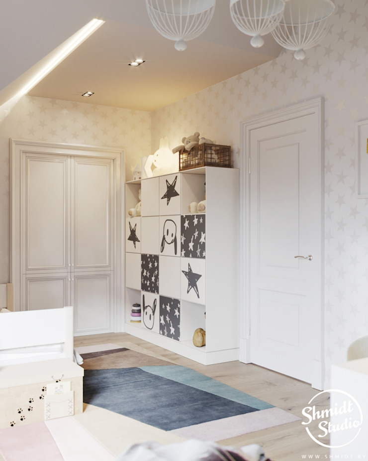 Project <q>Attractive</q>, Minsk Shmidt Studio Modern Kid's Room