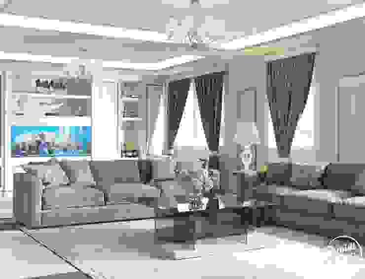 Project <q>Decent</q>, Minsk Shmidt Studio Modern Living Room