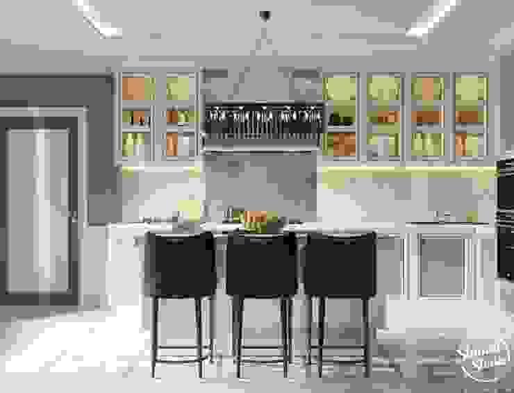 Project <q>Decent</q>, Minsk Shmidt Studio Modern Kitchen