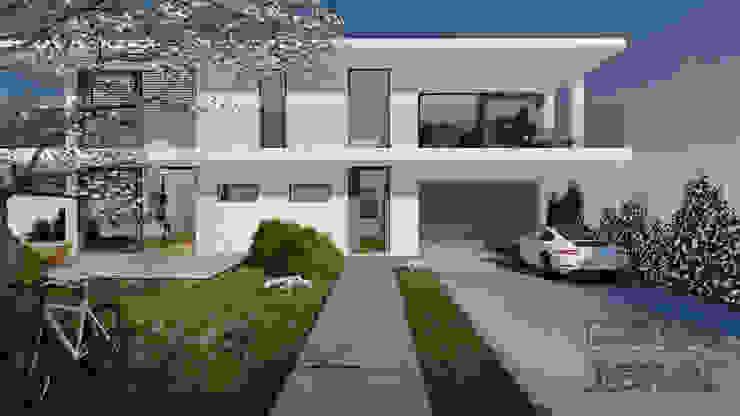 Moderne Villa - 1 - Architektur Visualisierung von MITKO DESIGN Modern
