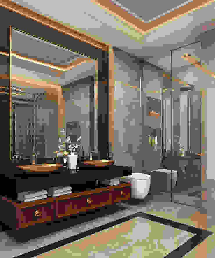 Zeray İnşaat A.Ş. Salle de bain moderne