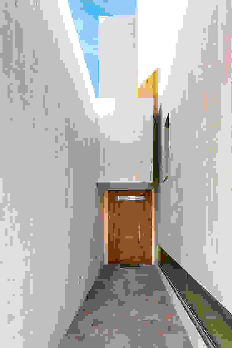 OOIIO Arquitectura 前門 木頭 Brown