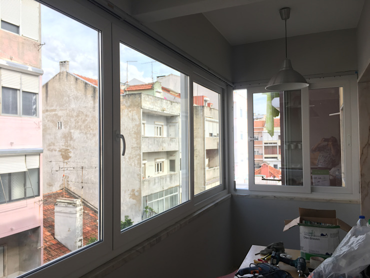 Ecoplan, Lda. Ventanas de PVC Blanco