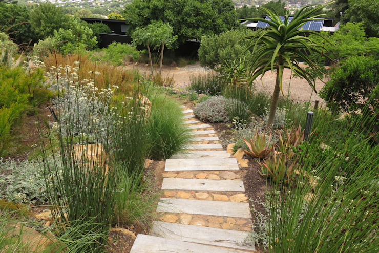 The Mountain Estate Eclectic style garden by Brett Walker Landscaping Eclectic