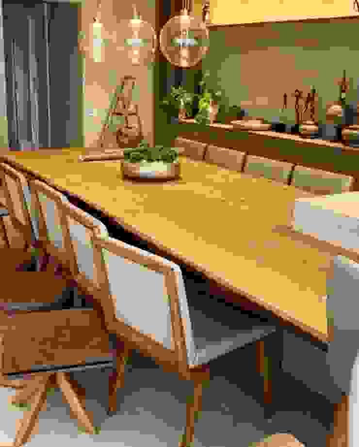 Tampo de madeira para Ilha - ArboREAL Móveis ArboREAL Móveis de Madeira Sala de jantarMesas Madeira maciça Efeito de madeira
