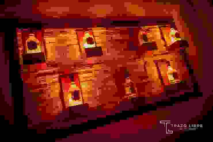 Remodelación Zona VIP ROOM de Trazo Libre Arquitectos & Ingenieros SAC Moderno Compuestos de madera y plástico