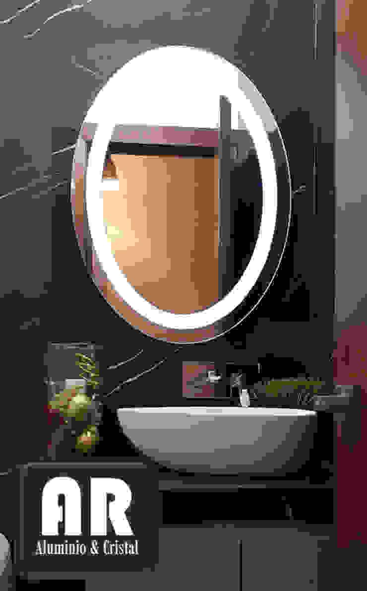 AR ALUMINIO & CRISTAL Modern style bathrooms