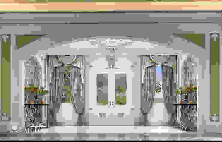 مدخل داخلي فاخر من Algedra Interior Design كلاسيكي