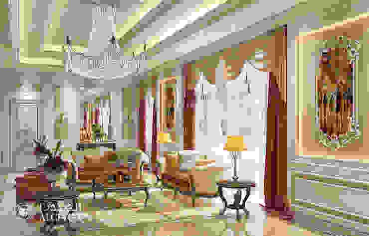 تصميم داخلي فخم بأسلوب كلاسيكي من Algedra Interior Design كلاسيكي