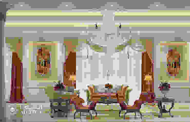 تصميم داخلي ساحر لفيلا فخمة ذات طراز كلاسيكي من Algedra Interior Design كلاسيكي