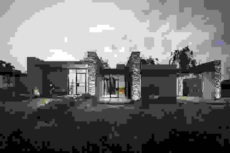 Abitazione 149 – Chianti Soffici e Galgani Architetti Case moderne