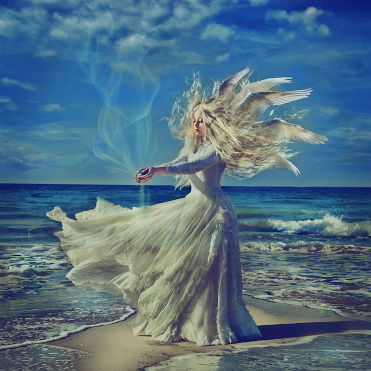 Sea Powder -Limited Edition Print: eclectic  by Mineheart, Eclectic