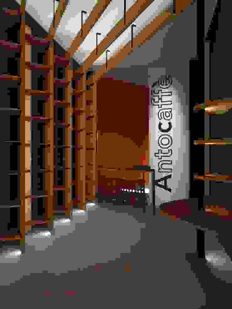 Render di progetto di ibedi laboratorio di architettura Moderno
