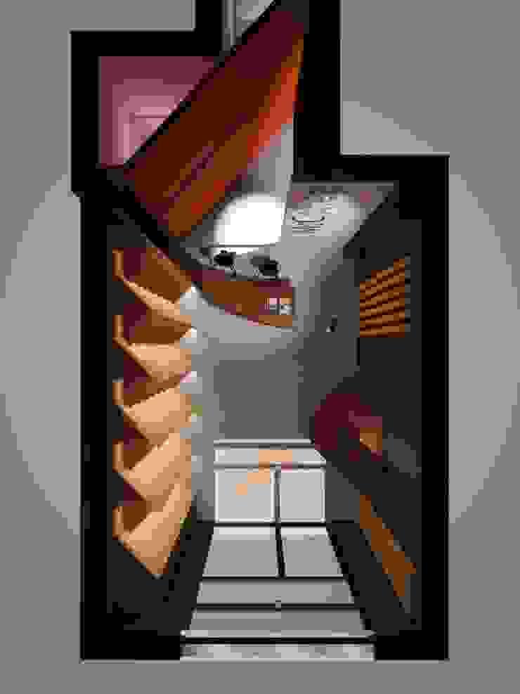 Pianta di progetto renderizzata di ibedi laboratorio di architettura Moderno