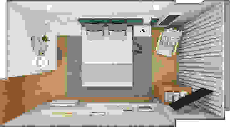 Layout geral por The Spacealist - Arquitectura e Interiores Moderno