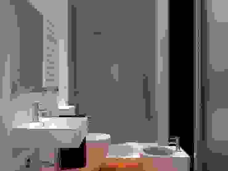 Render del bagno di ibedi laboratorio di architettura Rustico