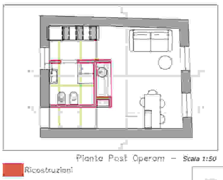 Pianta del Post di ibedi laboratorio di architettura Moderno