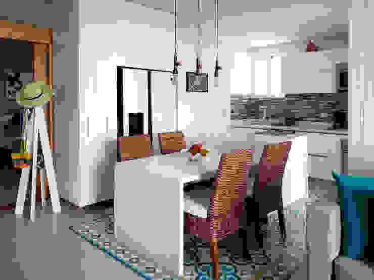 Remodelacion cocina integral de Remodelar Proyectos Integrales Moderno Cuarzo