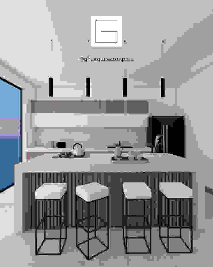 cocina de GH Arquitectos Moderno