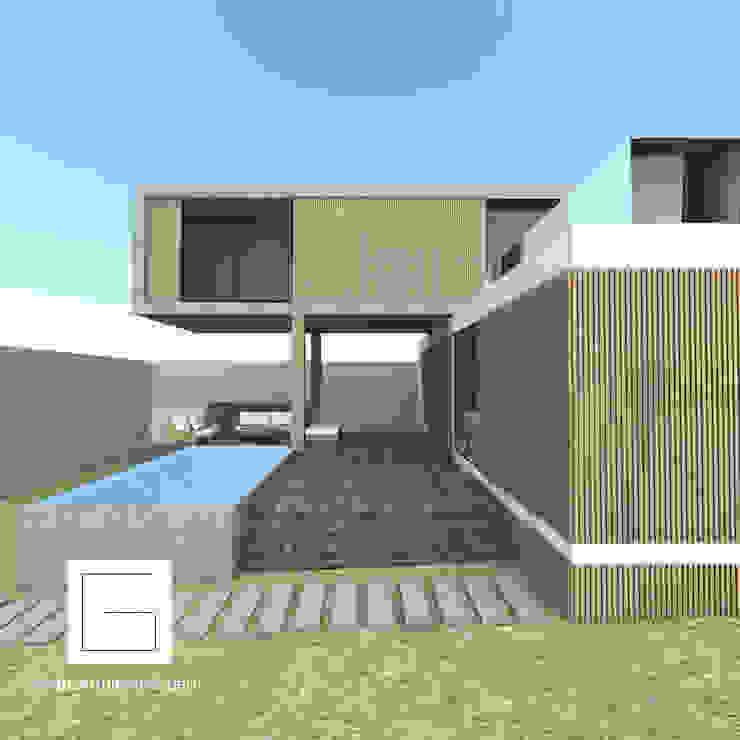 vista ingreso interior de GH Arquitectos Moderno