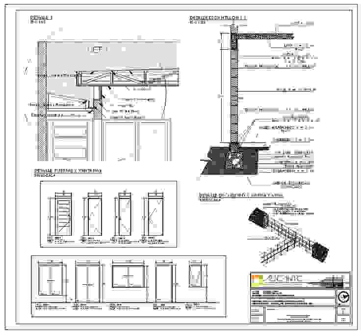 Proyecto de arquitectura de vivienda unifamiliar CASA PORTALES de ALICANTO - ARQUITECTURA, INGENIERÍA Y CONSTRUCCIÓN