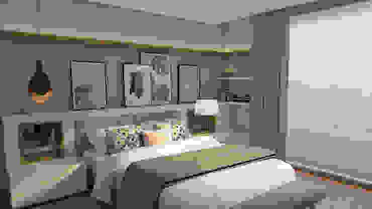 The Spacealist - Arquitectura e Interiores Dormitorios de estilo ecléctico