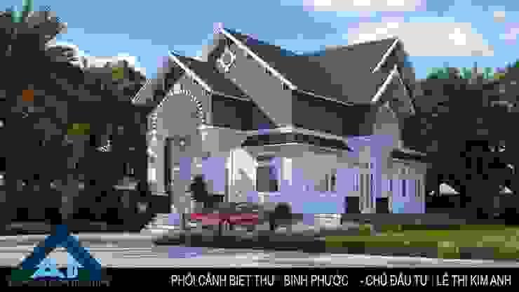 Phối cảnh ngôi nhà bởi Công ty Kiến trúc Á Âu