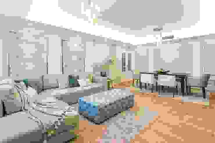 Sofá, sala e decoração Glim - Design de Interiores Salas de estar clássicas