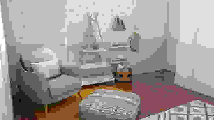 Quarto de bebé MP_versão género neutro The Spacealist - Arquitectura e Interiores Quartos de criança modernos