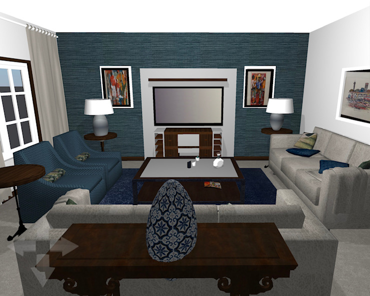 Render for TV Room by CS DESIGN Classic