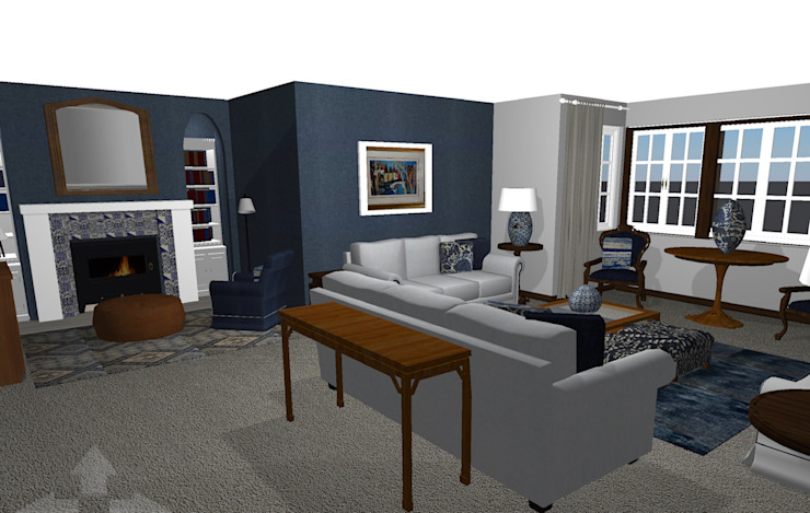 Render for lounge by CS DESIGN Classic