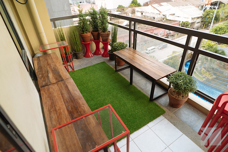 Work Life Balance Hayen Interiors Balcony