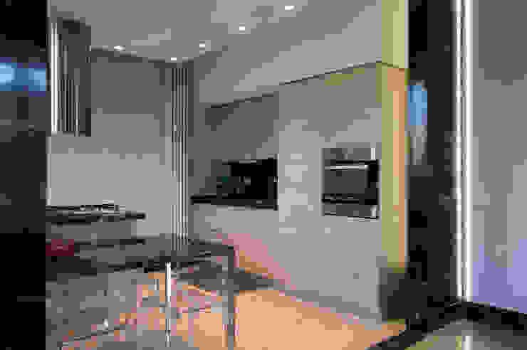 OPA Architetti Cocinas equipadas Madera Acabado en madera
