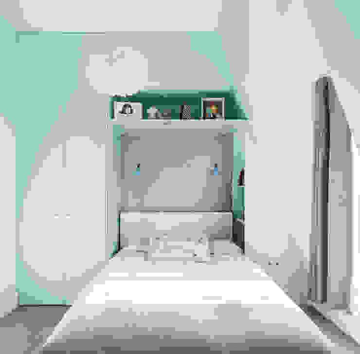 Kid's bedroom EMR Architecture Eclectic style bedroom Blue