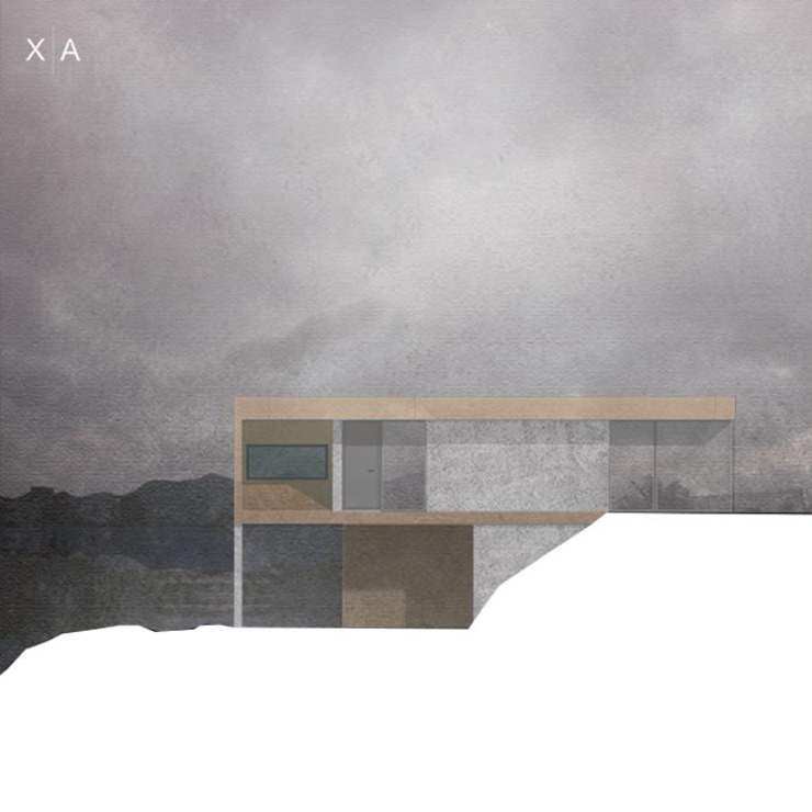 Alçado Principal por Xavier Ávila arquitetos