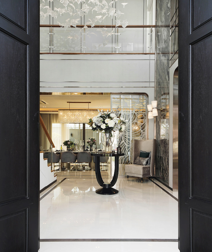 The pavilla residence-hypestudio Hypestudio ประตูไม้ ไม้ Brown