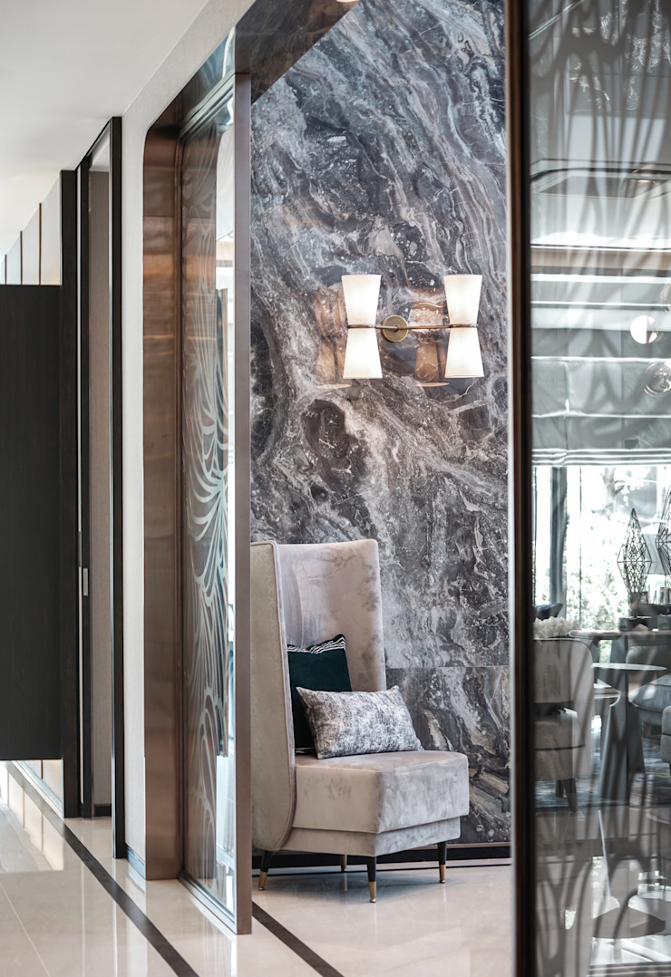 The pavilla residence-hypestudio Hypestudio กำแพง หิน Black