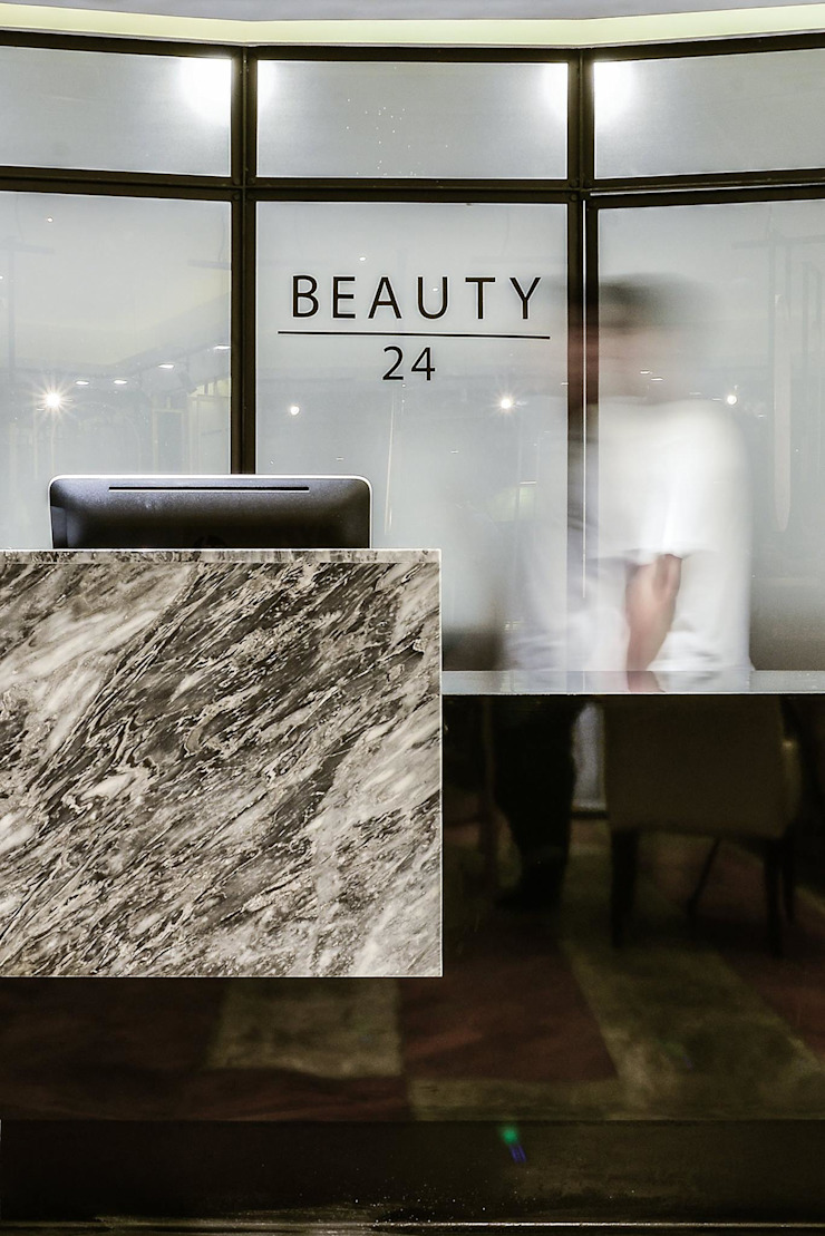 Beauty24-hypestudio Hypestudio ตกแต่งภายใน หิน Black