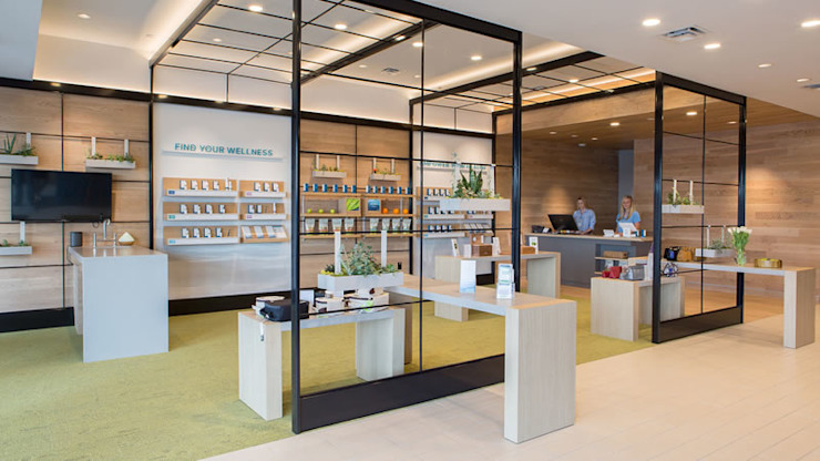 Pre-Licensing Dispensary Design in Chicago Heights, IL by MEEE DESIGN SERVICES