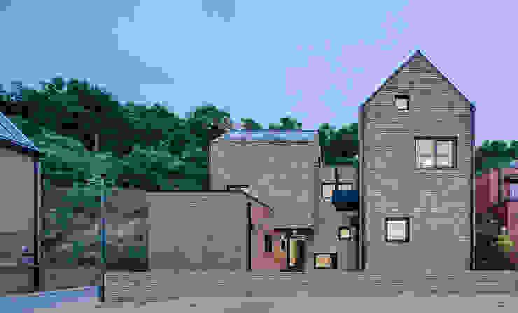 다양한 수납 아이디어가 돋보이는 세종 목조주택 모던스타일 주택 by 위드하임 모던