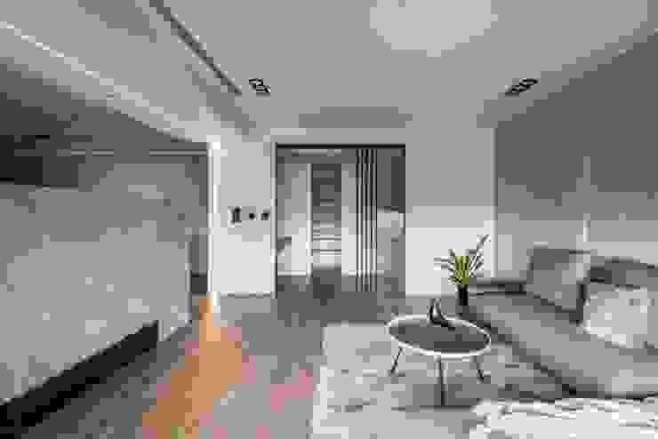 造型屏風 現代房屋設計點子、靈感 & 圖片 根據 極簡室內設計 Simple Design Studio 現代風