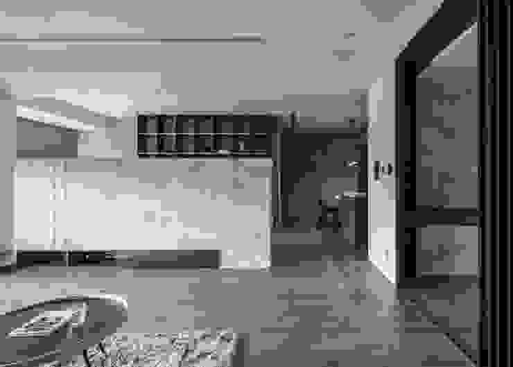客廳半牆 根據 極簡室內設計 Simple Design Studio 現代風